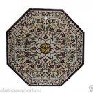 Dining Table Mosaic Pietra Dura Italian Floral Design Roman Medici Console Foyer