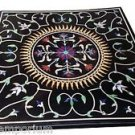 Size 3'x3' Marble Dining Side Corner Table Top Mosaic Inlay Pietradure Home Deco