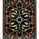Size 2'x4' Marble Dining Table Top With Stand Inlay Mosaic Art Home Decor