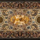 Size 2.5'x5' Marble Dining Table Top Pietradure Inlay Mosaic Art Decor Furniture