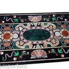 Size 4'x2' Marble Dining Center Table Top Mosaic Pietradure Inlay Deco Furniture