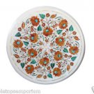 "Size 16""x16"" Marble Handmade Coffee Table Top Pietra Dura Hakik Home Decor"