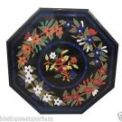 Size 2'x2' Marble Coffee Table Top Rare Inlay Mosaic Floral Art Home Decor Art