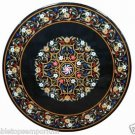 """Size 36""""x36"""" Marble Dining Coffee Table Top Mosaic Inlay Pietradure Home Decor"""