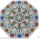 Size 2'x2' Octagon Coffee table White Marble inlay accent tables beautiful Arts