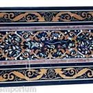 Size 4'x2' Marble Dining Corner Table Top Marquetry Mosaic Inlay Work Home Decor