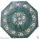 Size 2'x2' Marble Center Coffee Table Top Mother of Pearl Stone Mosaic Decor Art
