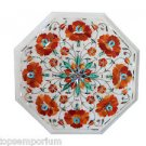 """Size 12""""x12"""" Marble coffee Table Top Real Hakik Inlay Marquetry Patio Deco Gifts"""