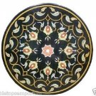 Size 3'x3' Marble Dining Table Top Rare Hakik Marquetry Mosaic Home Decor