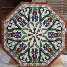 """30"""" Marble Coffee Dining Table Top Handmade Marquetry Design Home Decor Gifts"""