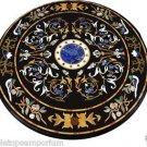 Size 5'x5' Marble Dining Table Top Inlay Gem Mosaic Pietradure Home Decor