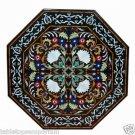Size 4'x4' Marble Dining Table Top Rare Inlay Pietradure Mosaic Home Decor
