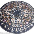 "Size 30""x30"" Marble Coffee Table Top Pietradure Art Mosaic Inlay Art Decorative"
