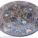 Size 5'x5' Marble Dining Coffee Table Top Rare Inlay Ancient Mosaic Garden Decor