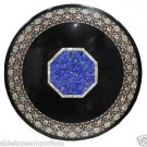 """Size 48""""x48"""" Marble Dining Center Table Top Mother of Pearl Floral Art Decor"""
