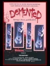 DEMENTED 1980 DVD