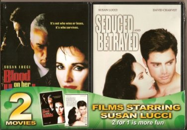 Seduced & Betrayed Susan Lucci + blood on her hands DVD