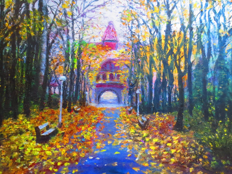 """Oil Painting�Romance-Fine Art Oil Painting On Canvas-Size: 20"""" x  24""""(50 cm x 60 cm)"""