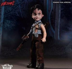 "*IN-STOCK* ASH Living Dead Dolls Presents: Evil Dead II 10"" Figure Mezco"