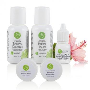 Dr Schwab Skin Care Sensitive Skin 5 Piece Travel Set