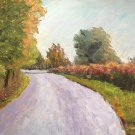 "Oil Painting—Road—Fine Art Oil Painting-Size: 12"" x  16""(30 cm x 40 cm)"
