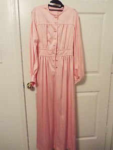 baby pink poet vintage poly knit dress