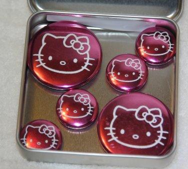Hello Kitty Foil Magnet Set