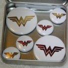 Wonder Women Logo Foil Magnet Set