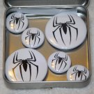 Spiderman Logo Foil Magnet Set
