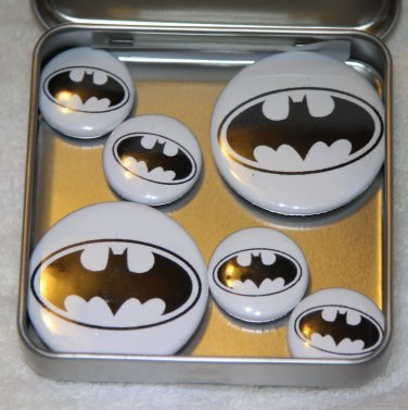 Batman Logo Foil Magnet Set