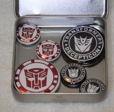 Transformer Foil Magnet Set
