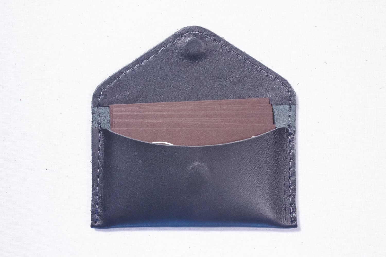 Grey Business Visit card wallet holder case