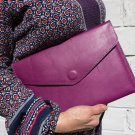 Purple tablet wallet Leather wallet