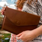 Brown tablet wallet Leather tablet wallet