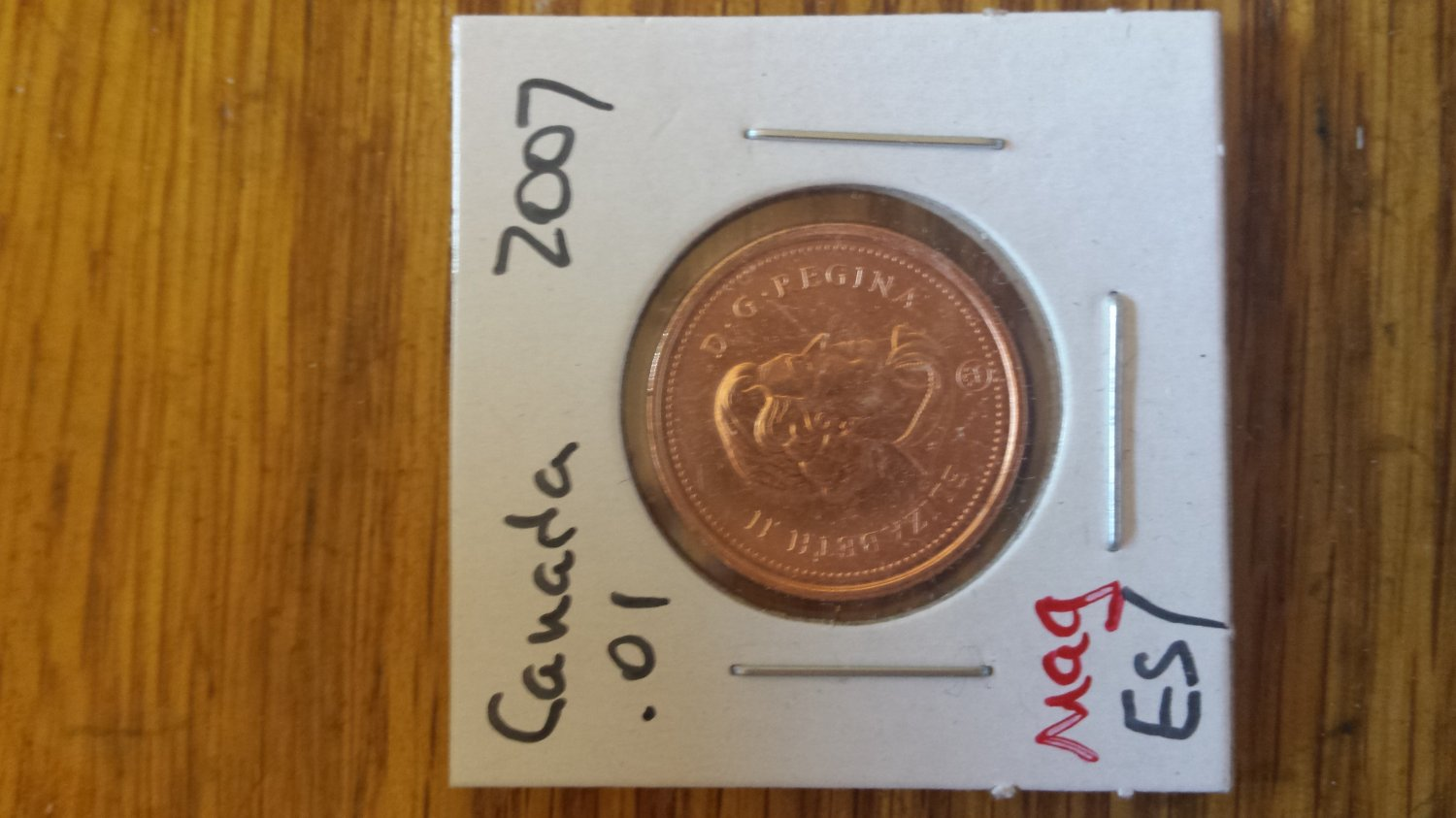 2011 Canada Cent Roll (MAGNETIC)