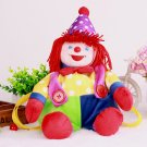 Children's Funny clown dolls plush backpack infantry pack bags