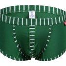 #5003PJ Green wangjiang brand Men's sexy underwear cotton stripes cuecas underpants boxer shorts