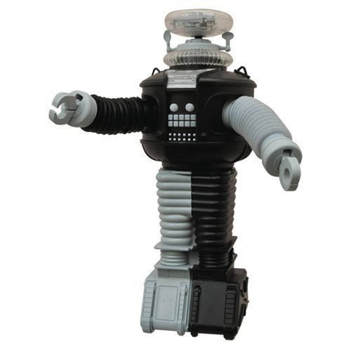 B-9 LOST IN SPACE ROBOT ANTIMATTER VERSION ELECTRONIC FIGURE BY DIAMOND SELECT TOYS