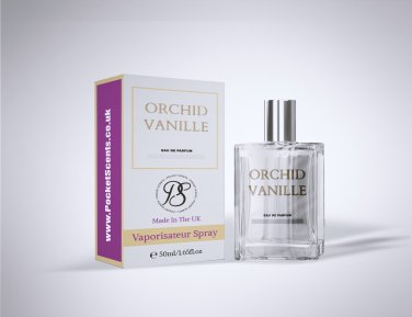 Pocket Scents Orchid Vanille 50ml EDP For Women