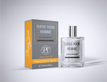 Pocket Scents Suede Pour Homme Men's EDP 50ml