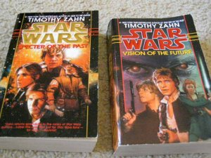 Star Wars Books Set of 2 Written by Timothy Zahn