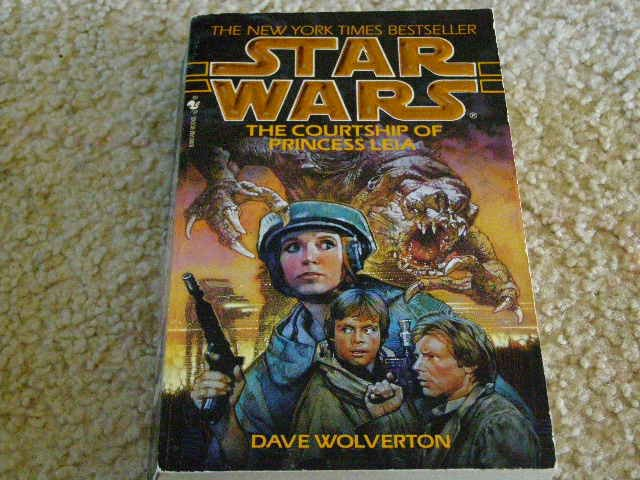 Star Wars The Courtship of Princess Leia written by Dave Wolverton