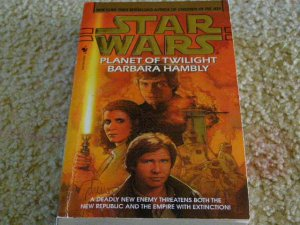 Star Wars Planet of Twilight written by Barbara Hambly