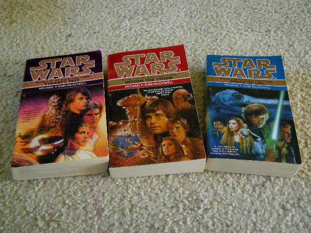Star Wars The Black Fleet Crisis First 3 books in Set