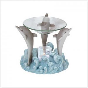 DOLPHIN TRIO OIL WARMER