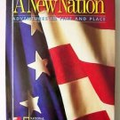 A NEW NATION Adventures in Time and Place GRADE 5 Hardcvr History textbook LkNEW