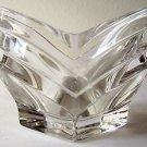 """Mikasa CRYSTAL CANDLE HOLDER Votive Heavy Thick GORGEOUS DECOR 3.5""""Tall GERMANY"""