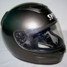 SHOEI Motorcycle Helmet Dark Metallic Gray ADULT SIZE L Large 59-60 cm NO cracks