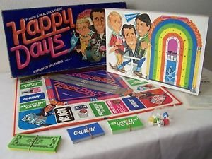 HAPPY DAYS BOARD GAME based on 70s-80s TV SHOW  The Fonz FONZIE Parker Bros 1976