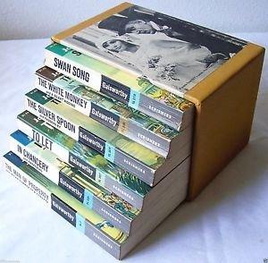THE FORSYTE CHRONICLES Galsworthy NOVELS 1969 Scribners 6 BOOK BOX SET Books